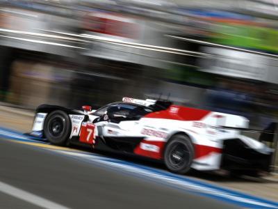 24H du Mans : la Toyota n°7 percute la Dragonspeed n°31