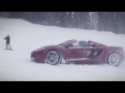 McLaren vs Snowboard
