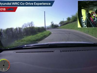 En caméra embarquée avec le pilote WRC de Hyundai Thierry Neuville