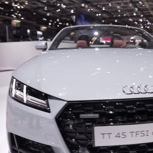 Mondial de l'Auto 2018 : l'Audi TT en vidéo
