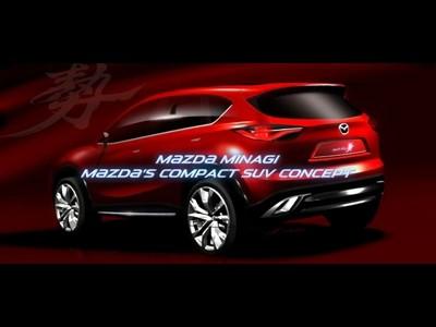 Teaser Mazda Minagi à Genève
