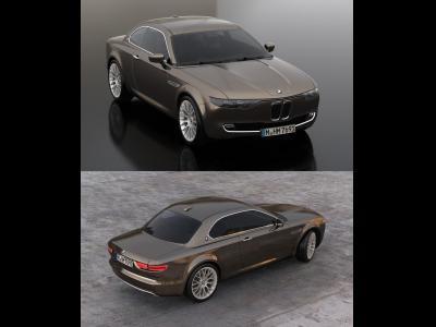 Le BMW CS Vintage Concept en vidéo