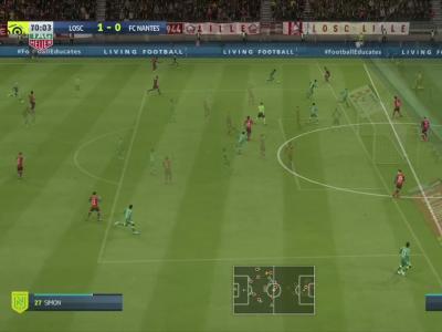 LOSC - FC Nantes : notre simulation FIFA 20 (L1 - 5e journée)