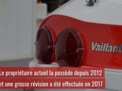 Vente Artcurial Automobiles en Scène : présentation de l'Hommell Vaillante Grand Défi