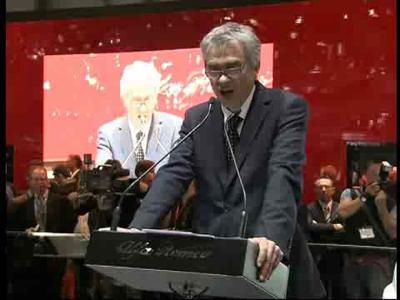 Alfa Romeo - conférence presse Genève 2009
