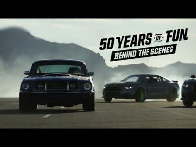 Making-of : 50 ans de fun en Mustang