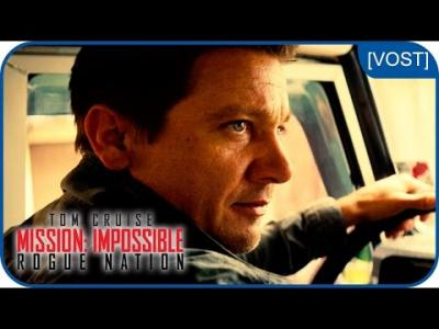 Vidéos : Jeremy Renner est William Brandt | Mission:Impossible Rogue Nation