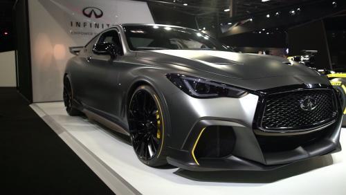 Mondial de l'Auto 2018 : l'Infinity Black S Concept en vidéo