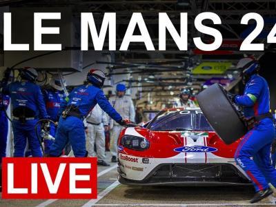 24 heure du Mans : la course en direct à bord des voitures Ford