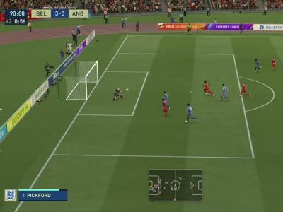 Belgique - Angleterre : notre simulation FIFA 21 (5ème journée - Ligue des Nations)