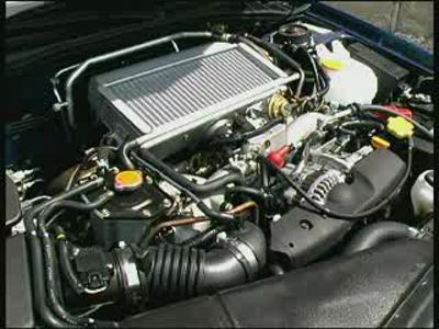 Essai Subaru Impreza WRX Rallye