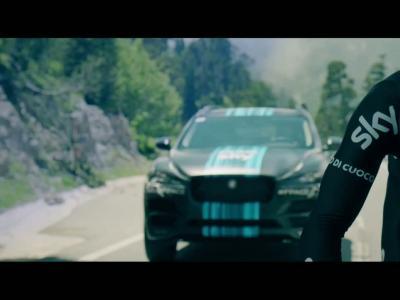Le Jaguar F-Pace débarque au Tour de France