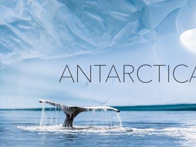 L'antarctique vu par un drone