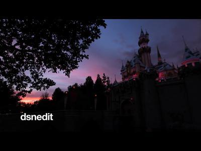 Etonnant Disneyland en time lapse