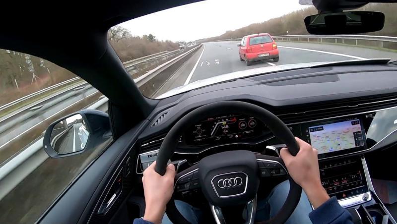 Audi RS Q8 : il prend 303 km/h sur autoroute