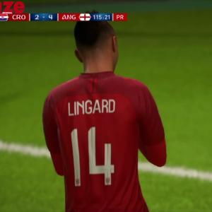 Croatie - Angleterre : notre simulation sur FIFA 18