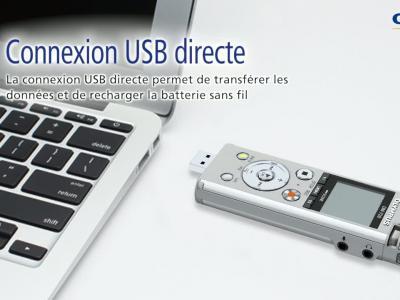 Olympus DM-720 : vidéo de présentation en VF de l'enregistreur audio