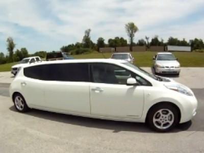 La Nissan Leaf en version limousine