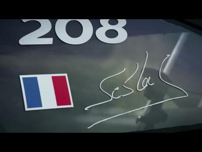 Sébastien Loeb teste la 208 T16 Pikes Peak