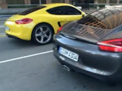 Porsche Cayman et Cayman S