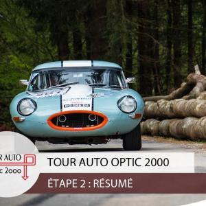 Tour Auto 2018 Jour 2 : Besançon - Megève