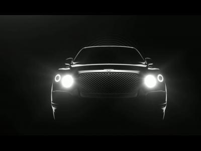 Le futur SUV Bentley aura un profil de Coupé