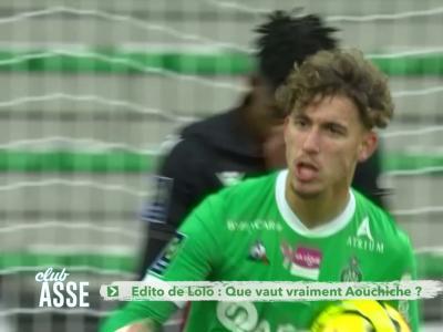 ASSE : l'edito de Laurent Hess sur la saison d'Adil Aouchiche