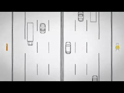 Les bons réflexes autoroute : la bande d'arrêt d'urgence