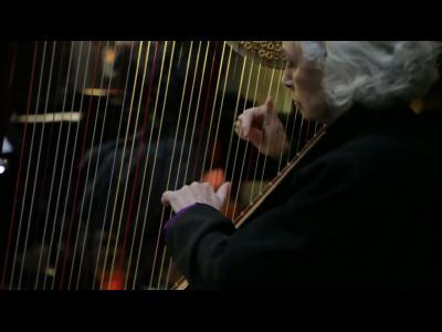 Nathalie Dessay et Michel Legrand en concert dans le métro