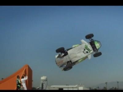 Record du monde du saut en tire-bouchon