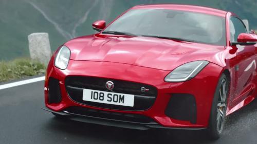Jaguar F-Type restylée : subtiles évolutions et application pour GoPro au programme