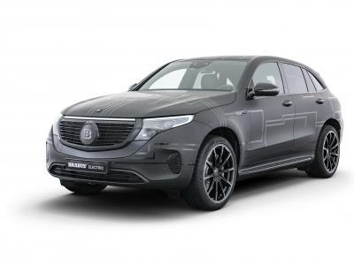 Mercedes EQC by Brabus : le SUV 100% électrique préparé en vidéo