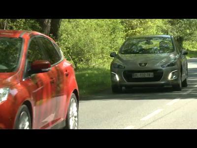 Comparatif Ford Focus 1.6 TDCi 115 ch / Peugeot 308 1.6 e-HDi 112 ch