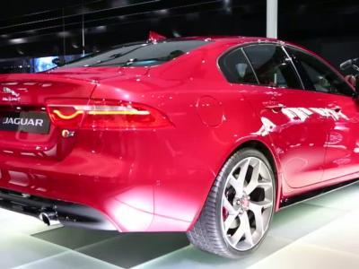 Mondial Auto 2014 : Jaguar XE