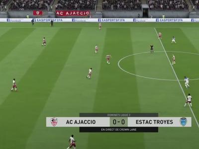 AC Ajaccio - ESTAC Troyes : notre simulation FIFA 20 (L2 - 37e journée)