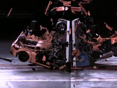 La Porsche 911 GT3 RS de Lego passe aux crash-tests