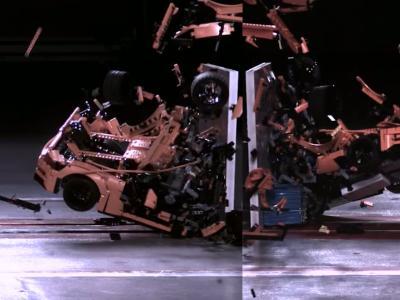 La Porsche 911 GT3 RS de Lego passe aux crash-tests