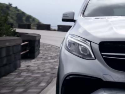 Mercedes nous montre un premier aperçu du GLE 63 AMG