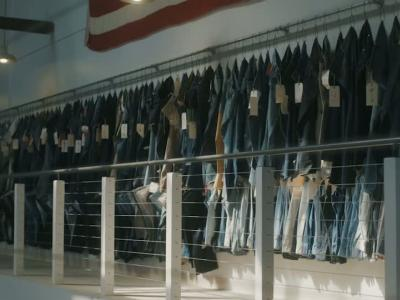 Levi's et Mr Porter customisent le 501