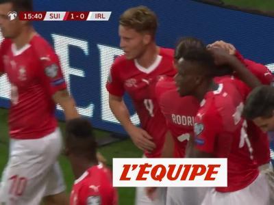 Tous les buts de Suisse - Irlande - Foot - Qualif. Euro