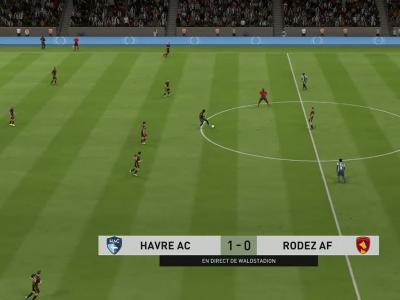 Le Havre FC - Rodez AF : notre simulation FIFA 20 (L2 - 34e journée)
