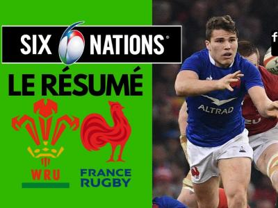 Pays de Galles - France : résumé et essais du match en vidéo