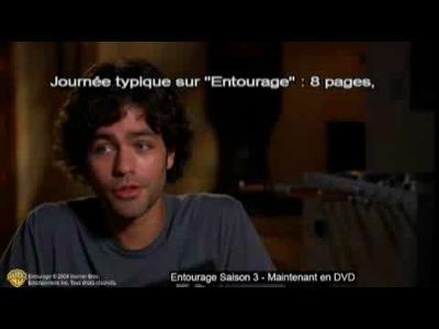 Entourage Saison 3 - Interviews Equipe