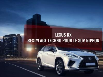 Lexus RX : le restylage 2019 du SUV nippon en vidéo
