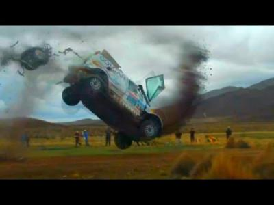L'incroyable double crash survenu sur le Dakar 2015