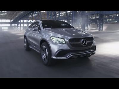 Le Mercedes Concept Coupé SUV en vidéo