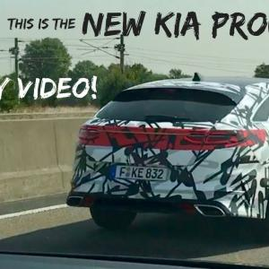 Kia ProCeed 2019 : le prototype en vidéo
