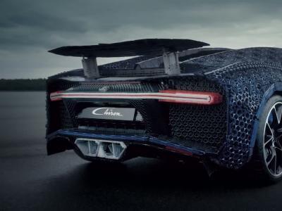 Lego recrée une Bugatti Chiron roulante à l'échelle 1