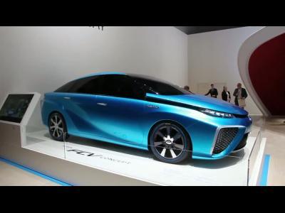 Genève 2014 : Toyota FCV-R Concept