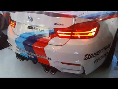 La BMW M4 safety car de MotoGP sait chanter